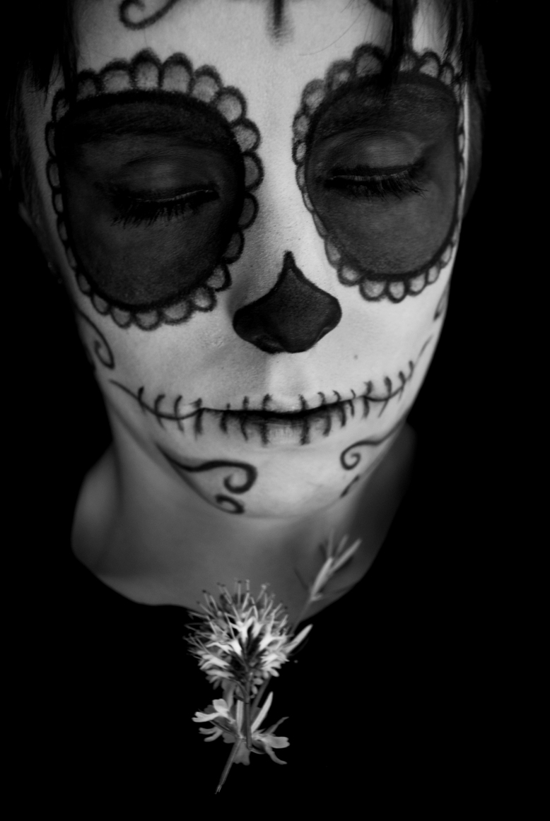 Black and white mexican skull skullsproject according to regina marchi the mexican day of the dead is a sacred tradition that honours and commemorates the deceased in comparison to other western biocorpaavc Gallery
