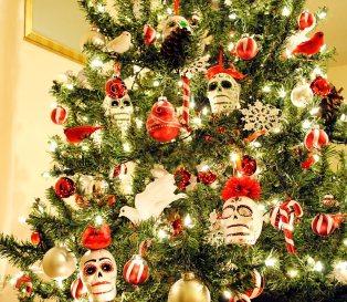 Sugar Skull Christmas Tree (3)