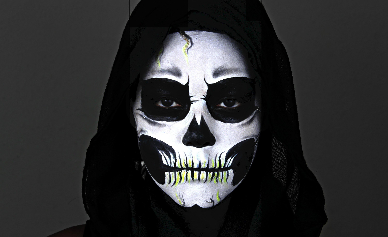 Tutorials skullsproject 2 skeleton makeup tutorial by emily benitez baditri Image collections